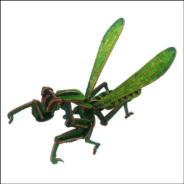 DIY 입체 곤충 퍼즐(사마귀)-32pcs