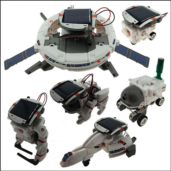 6IN1 태양광 충전 우주 함대