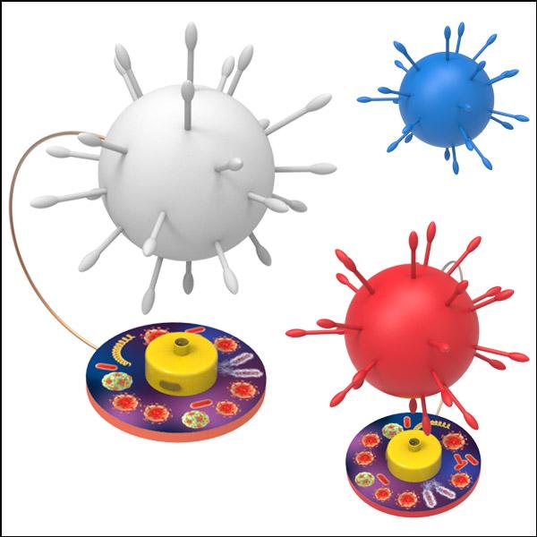 창작용 바이러스 조명등 만들기