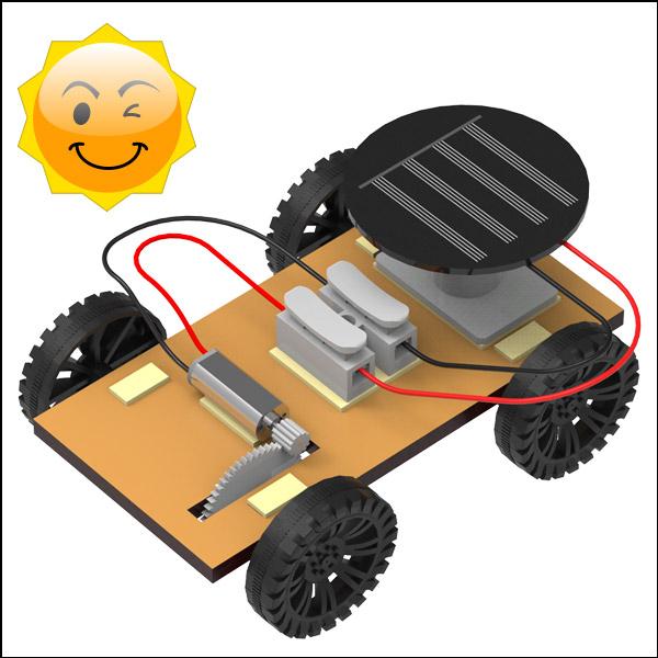 DIY 나무 태양광 자동차