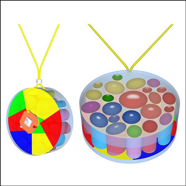 [척척박사네3588] 뉴 빛의 반사굴절 목걸이 만들기(일반형/LED형)-1인용/10인용