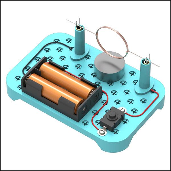 [척척박사네3630] 호모폴라 전동기 만들기