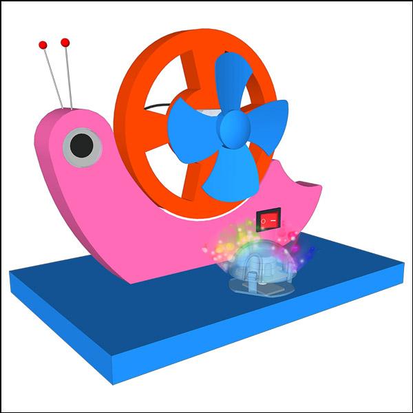 뉴 LED 달팽이 선풍기 만들기(1인용/5인용)