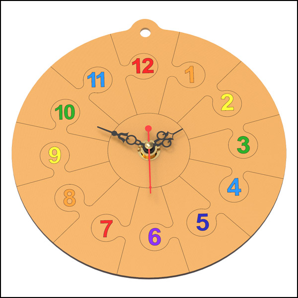 DIY 나무 시계 만들기(벽걸이형)
