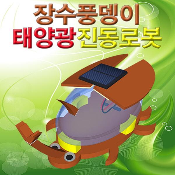 [척척박사네2287] 장수풍뎅이 태양광진동로봇(5인용)