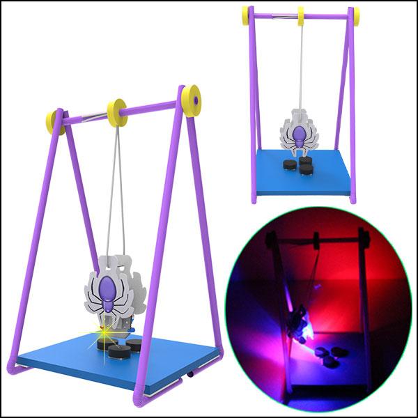 [척척박사네1867] LED 중력과 자석 스파이더(LED형)-5인용