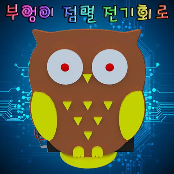 부엉이 점멸 전기회로(1인용/5인용)