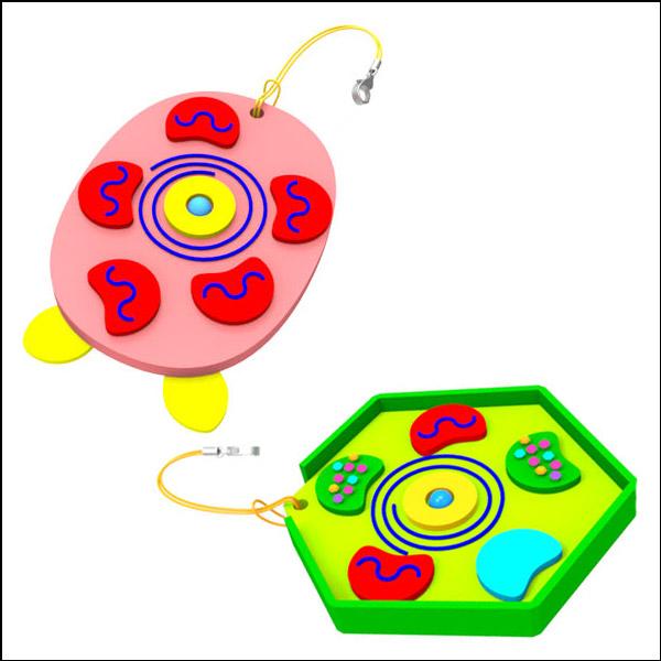 [척척박사네1704] 세포 열쇠고리 만들기(식물+동물 2종 세트)