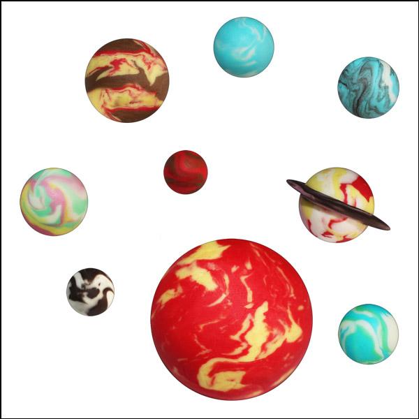 [척척박사네2107] 오물조물비누 태양계행성(9개 행성세트)