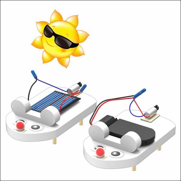 [척척박사네2163] 쥐돌이 진동로봇(태양광형)-5인용