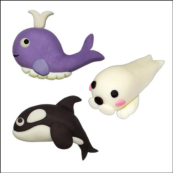 [척척박사네2100] 바다의 포유류동물(고래/범고래/아기바다표범)-10세트